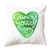 Dance Yourself Happy - Cushion cover